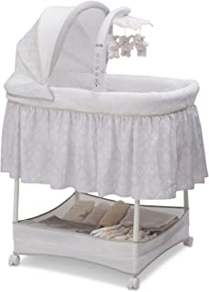 c959d391aea Amazon.com  White - Bassinets   Cribs   Nursery Beds  Baby Products