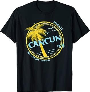 Cancun Mexico Souvenir Gift Shirt For Spring Break