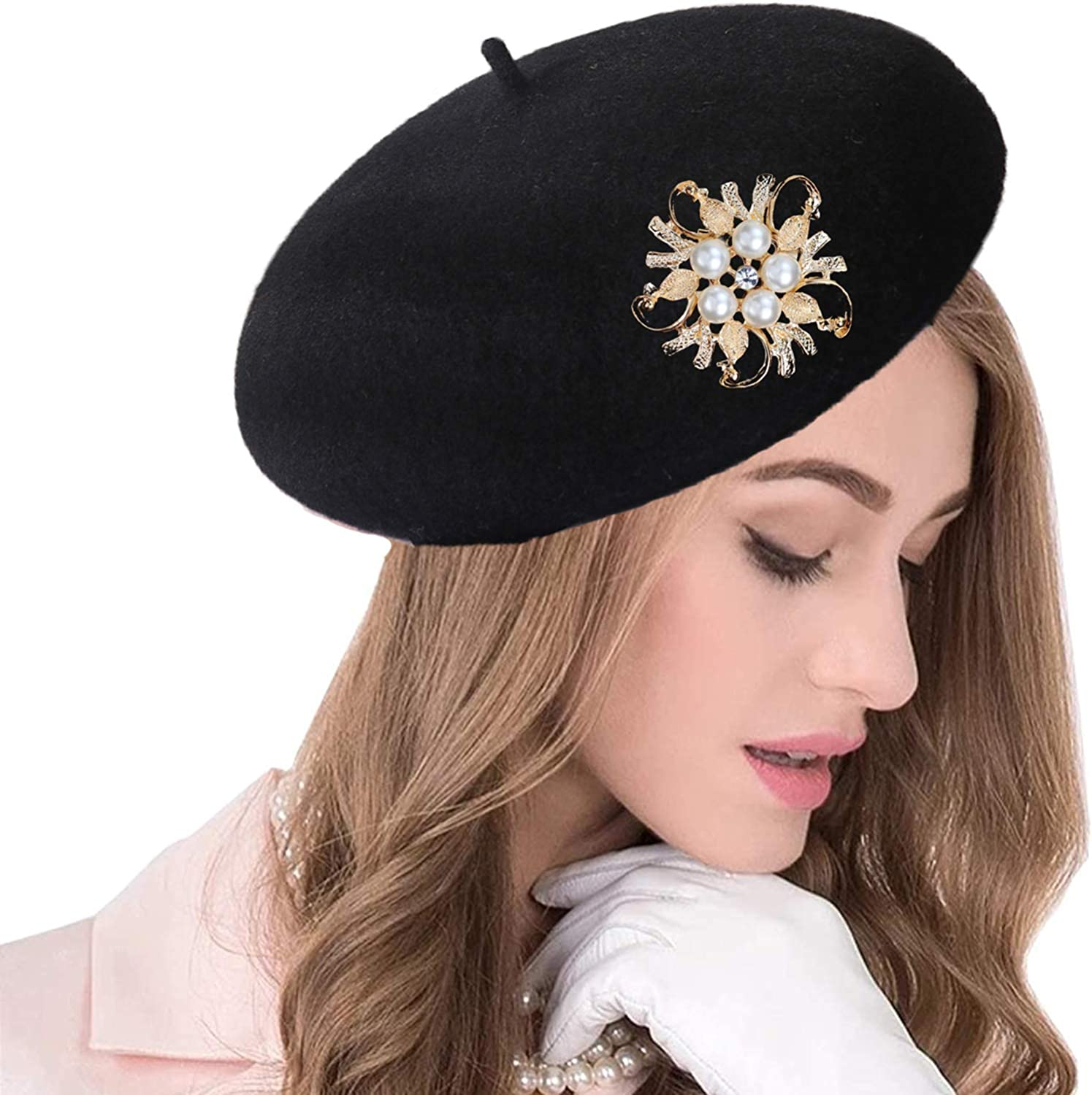 seven wolves Leopard Max 74% OFF Max 58% OFF Beret Casual Class French Lightweight