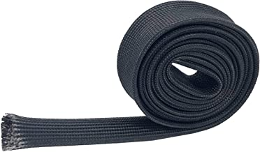 Ucreative Fiberglass Wire Heat Shield 5 feet x 1/2 inch Prevent Vapor Lock Protect Wires from Melting
