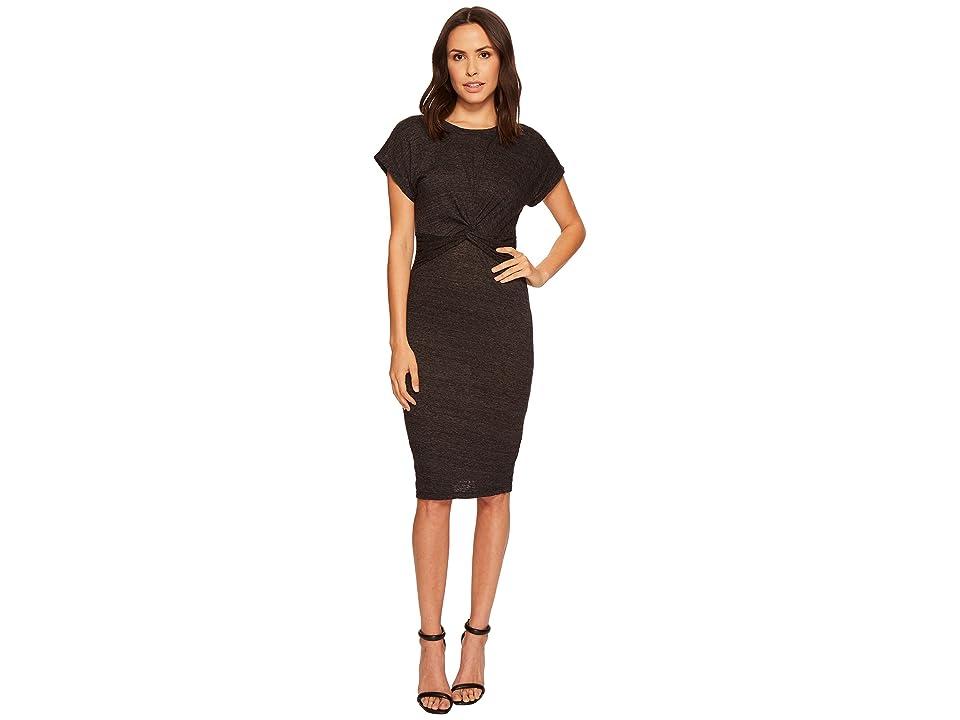 Three Dots Knotted Dress (Black) Women