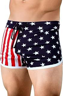Neptio Men's American Flag Retro Running Short