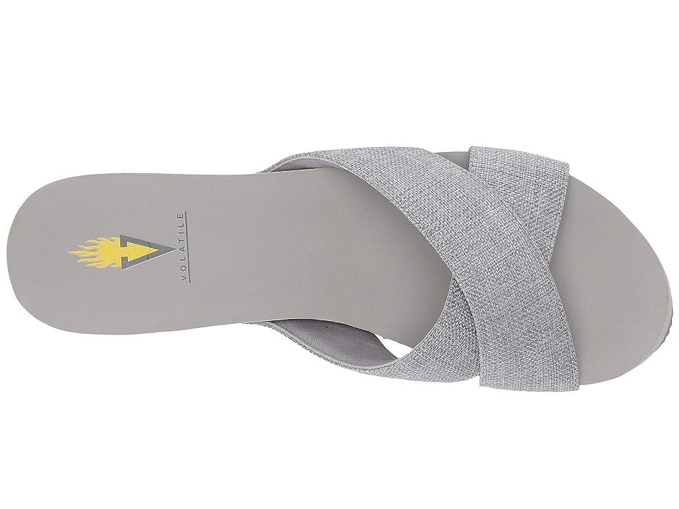 VOLATILE Rivera (Light Grey) Women's Wedge Shoes, Gray