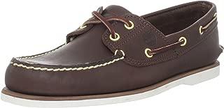 Men's Classic 2-Eye Boat Shoe, Dark Brown, 10 M