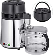 Mophorn Water Distillers Countertop 1.1 Gal/4L Stainless Steel Purifier Filter Machine 750W, with Handle Food-Grade Outlet...