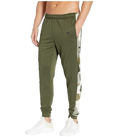Nike Dry Pants Taper Fleece Camo (Cargo Khaki/Cargo Khaki/Black) Men