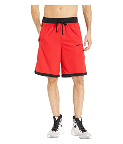 Nike Dry Elite Shorts Stripe (University Red/Black/Black/Black) Men