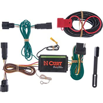 CURT 56436 Vehicle-Side Custom 4-Pin Trailer Wiring Harness Select Ford Edge