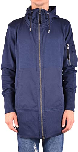 DIESEL Luxury mode Homme MCBI34434 Bleu Sweatshirt   Saison Outlet