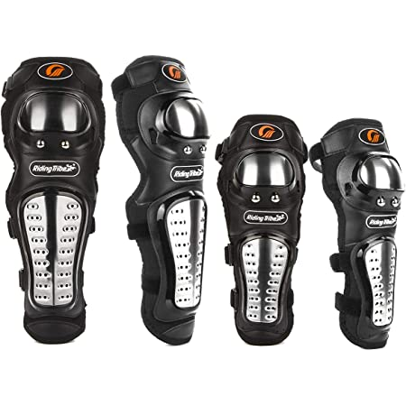 4pcs//Set Motorcycle Elbow Protector Knee Pads Safety Protective Gear Pads