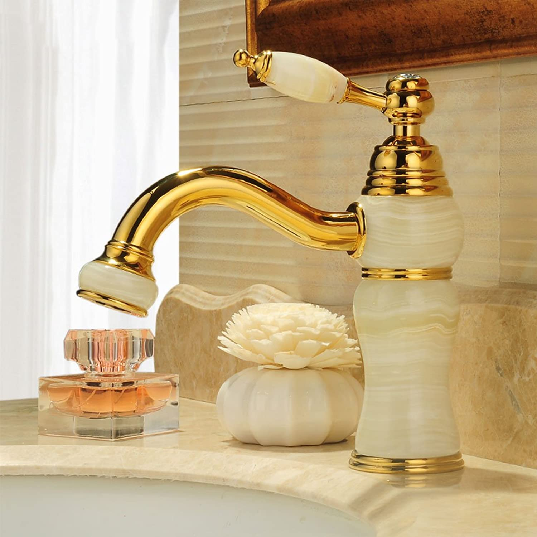 European Antique Luxury High-end Basin Mixer Creative Fashion Retro Hot And Cold Faucet