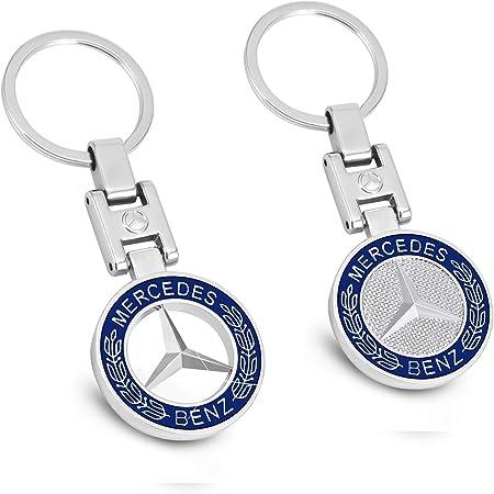 Mikafen Neue Auto Schlüsselanhänger 3d Metall Emblem Anhänger Auto Logo Schlüsselanhänger Für Bmw Mercedes Benz Vw Audi Für Benz Auto