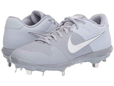 Nike Alpha Huarache Varsity Low (Wolf Grey/White/Pure Platinum) Men