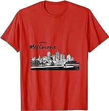 Australia Melbourne Buildings Cool Creative T shirt Design