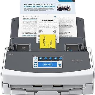 Fujitsu ScanSnap iX1600 Scanner de documentos versátil ativado na nuvem para Mac e PC, branco