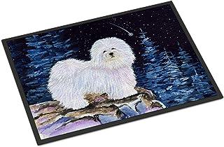 Caroline's Treasures SS8437MAT Starry Night Coton de Tulear Indoor Outdoor Mat 18x27 Doormat, 18H X 27W, Multicolor