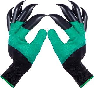 دستکش باغچه ای با پنجه برای زنان و مردان در فضای باز کاشت بذر علف های هرز