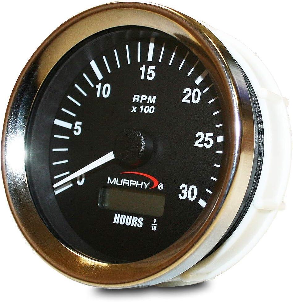 Murphy Popular brand by Enovation Controls ATH-30 24 Ranking TOP3 VDC 12 Analog Tachometer