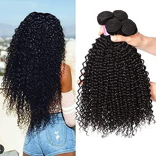Best brazilian kinky curly hair weave Reviews