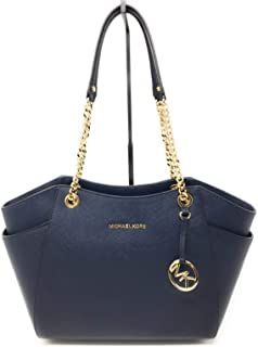 64f12541160268 Michael Kors Women's Jet Set Travel - Large Chain Shoulder Tote