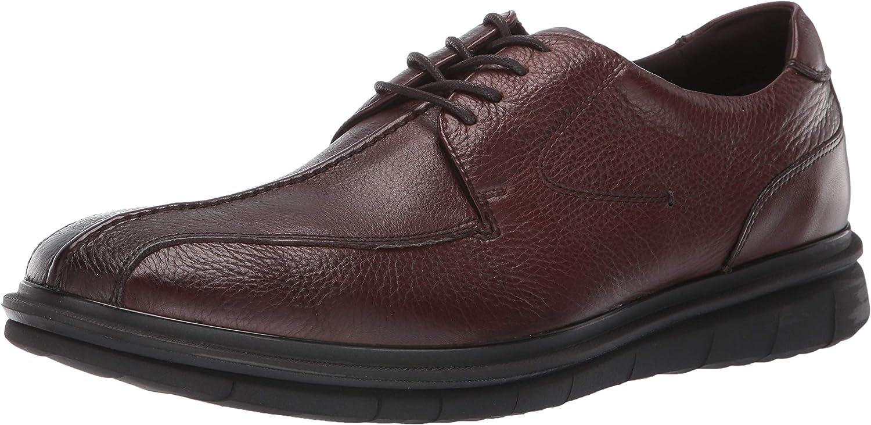 Kenneth Cole REACTION Men's Corey Flex Lace Up shoes, Dark Brown