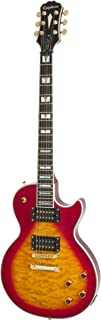 Epiphone Prophecy Les Paul Custom Plus GX Outfit with Gibson 498T/490R Pickups Includes Case, Heritage Cherry Burst