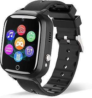 Smart Watch for Kids - Children Smartwatch Boys Girls with 2 Way Phone Call 7 Intelligent Games Music MP3 Player HD Selfie...