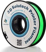 3D Solutech See Through Green 1.75mm Flexible 3D Printer Filament 2.2 LBS (1.0KG)