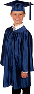 Elementary School Graduation Gown and Cap - Shiny