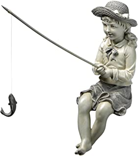 Design Toscano Nellie's Big Catch Fisherwoman Statue
