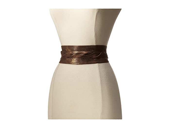 ADA Collection Obi Classic Wrap Belt (Truffle) Women