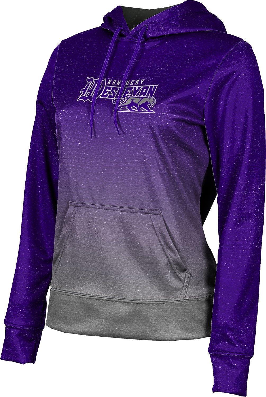 Kentucky Wesleyan College Girls' Pullover Hoodie, School Spirit Sweatshirt (Ombre)