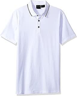 Armani Exchange Polos For Men, White (8NZF70ZJM9Z - M)