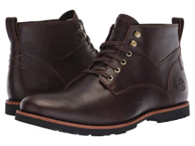 Timberland Kendrick Waterproof Chukka (Dark Brown Full Grain) Men