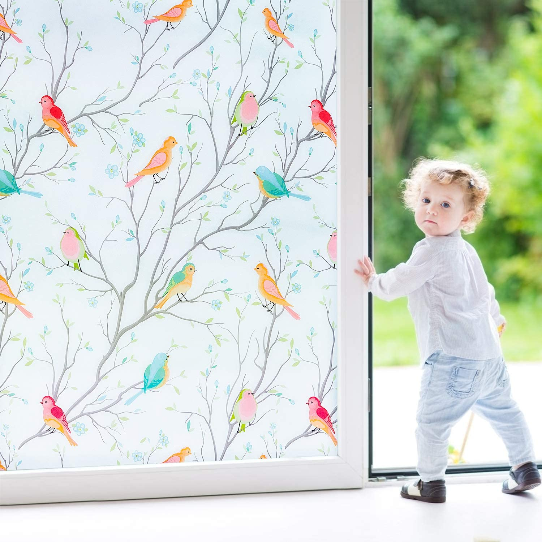 Coavas Frosted Window Film Christm Privacy Decorative Spasm price Glass 5 ☆ popular