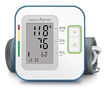 HealthSense Heart Mate Classic BP120 Digital Blood Pressure Monitor (Grey)