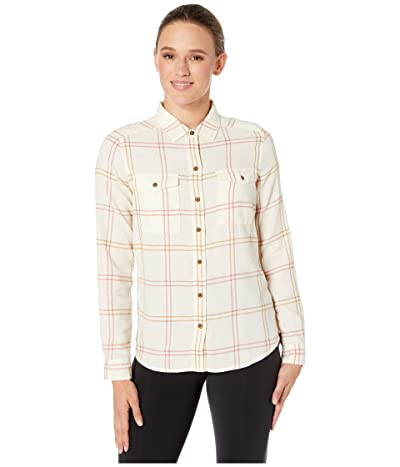 Toad&Co Re-Form Flannel Shirt (Egret) Women