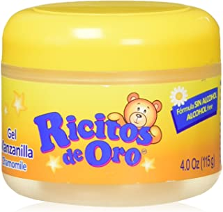 Manzanilla Ricitos de Hair Gel| Alcohol-Free Hair Care Gel for Daily Use, Gentle Gel with Chamomile Extract; 4.0 Ounces