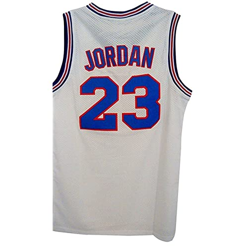 28cbf9f7d25 WELETION Black Friday 23# Space Moive Jersey Mens Basketball Jersey White