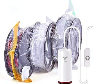 کیت ذخیره سازی رشته چاپگر 3D ، کیسه های مهر و موم شده با خلا V Vacbird 6 با کیسه های ذخیره سازی فشرده سازی خلاac پمپ برقی ، از رطوبت جلوگیری می کنند