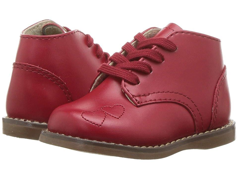 FootMates Tammy (Toddler/Little Kid) (Apple Red) Girls Shoes