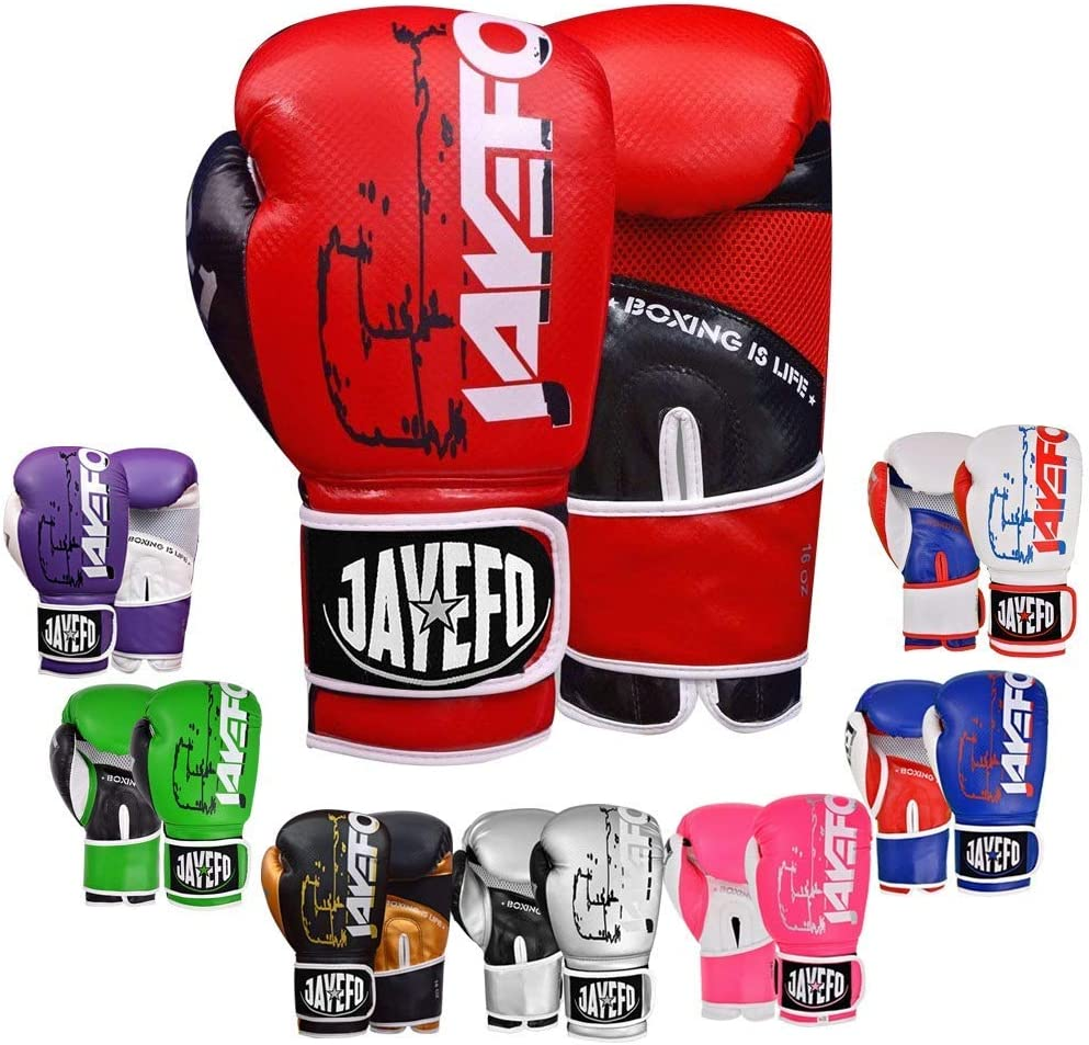 2021 autumn and winter new 2022 Jayefo Vegan Leather 40% OFF Cheap Sale Boxing Gloves Men for Tha Women Muay