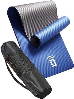 ヨガマット おりたたみ トレーニングマット エクササイズマット LICLI ヨガ ピラティス マット 厚さ 10mm/12mm 「 ストラップ 収納ケース付 」「 ニトリルゴム 滑り止め マットバッグ 」 11カラー