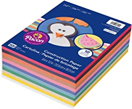 Pacon. 9 x 12, 6555 Rainbow Super Value Construction Paper Ream, Assorted, 500 Sheets (2 Pack)