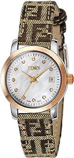 [フェンディ]FENDI 腕時計 ラウンドクラシコ ホワイトパール文字盤 ダイヤ F218242DF レディース 【並行輸入品】
