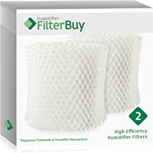 FilterBuy Honeywell HC888 Replacement Filters. Compatible with Honeywell Filter C. Designed to fit Honeywell HCM-890 & Duracraft DH888, DCM200 & DH890. Pack of 2.