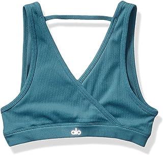 Alo Yoga Womens Workout Sports Bra One Size Green
