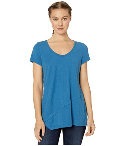 Aventura Clothing Renee Short Sleeve (Blue Tincture) Women