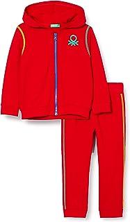 United Colors of Benetton Comp(Giacca+Pant) Pantalón para Niños