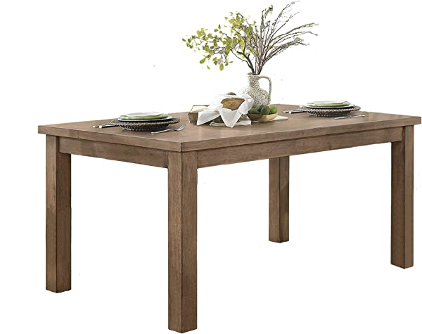 Homelegance Janina 66 X 38 Dining Table Natural